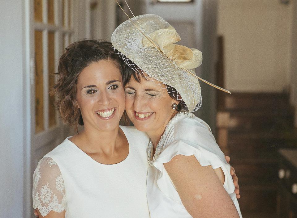 47 novia con su madre