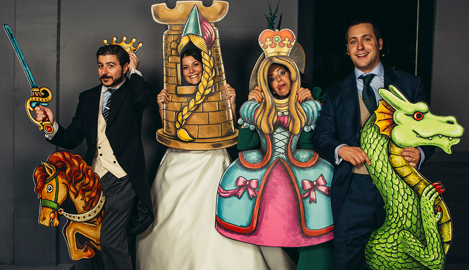 el-photocall-medieval-en-la-boda