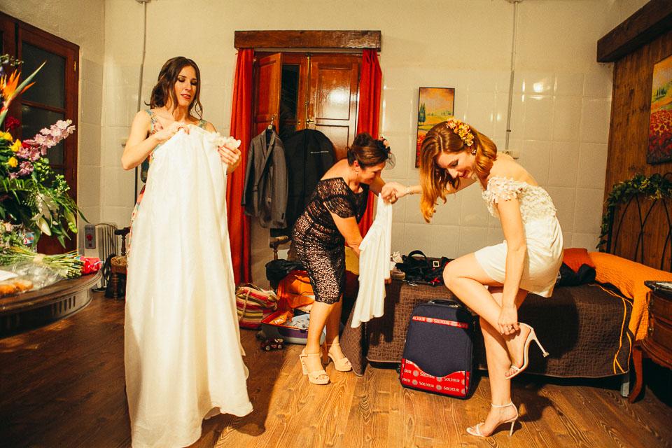52 cambio de vestido de novia