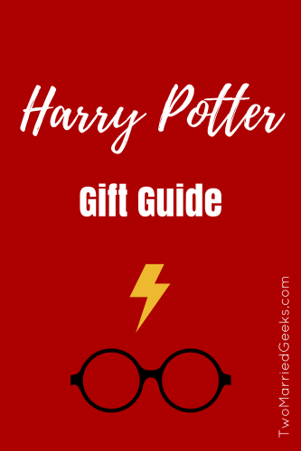 Harry Potter Gift Guide - Two Married Geeks - A gift guide for the Harry Potter fan #gifts #presents #holidays #christmas #harrypotter