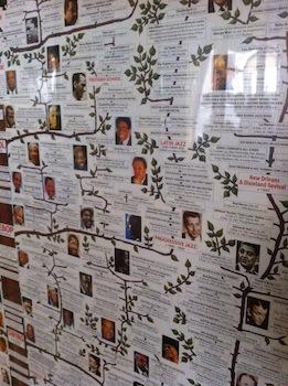 Poster Jazz Albero Genealogico