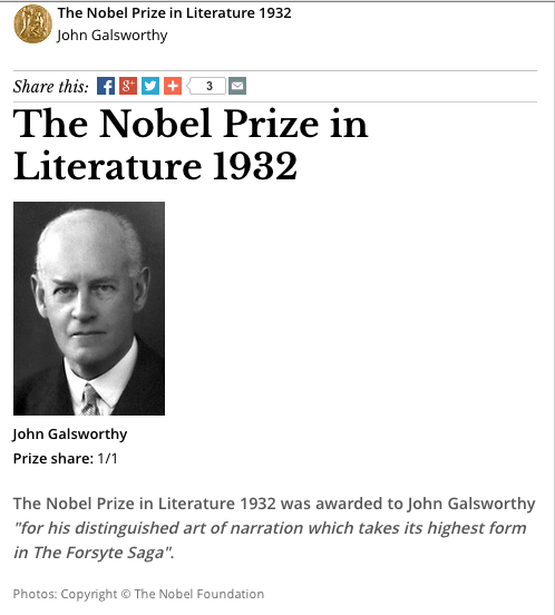 source: Nobel Foundation Website