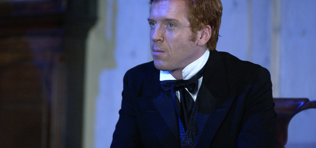 28 Oct 2005, London, England, UK --- Damian Lewis (as Karsten Bernick) in the production at the Royal National Theatre in London. --- Image by © Robbie Jack/Corbis