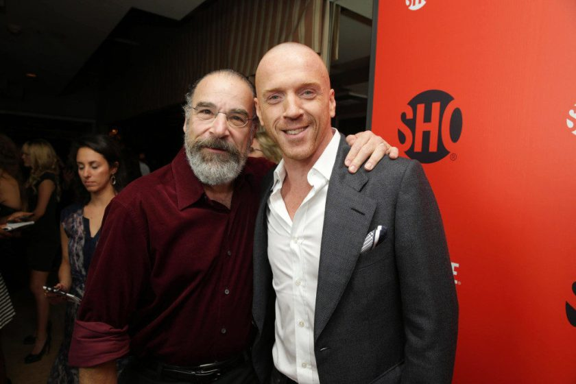 Mandy Patinkin and Damian Lewis seen at Showtime's 2013 'Emmy Eve' on Saturday, Sept, 21, 2013 in Los Angeles. (Photo by Eric Charbonneau/Invision for Showtime/AP Images)