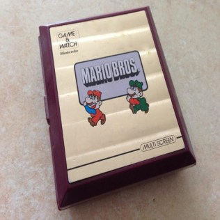 GAME & WATCH Mario Bros