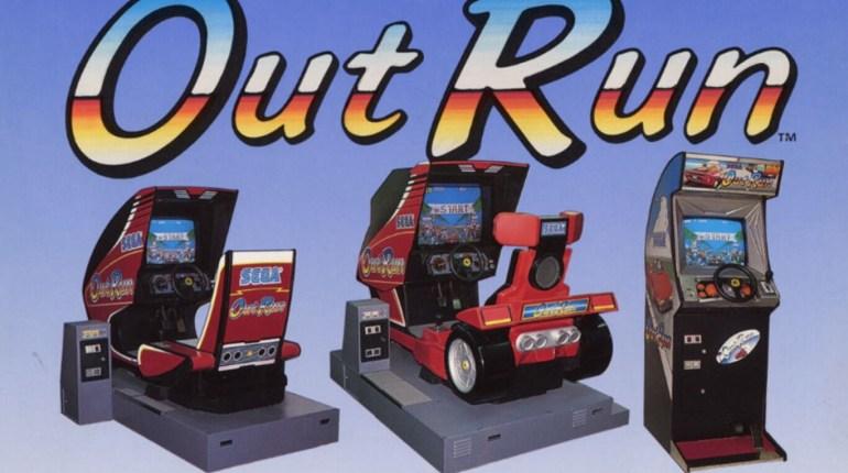 out run sega arcade