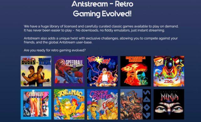 Antstream juegos