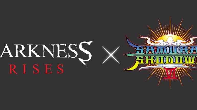 Darkness Rises Logo Darkness Rises celebra una alianza con Samurai Shodown VI