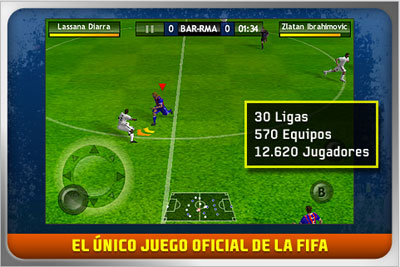 FiFA 10 iphone ipod touch