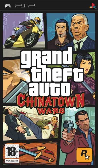 GTA chinatown wars PSP PSP GO