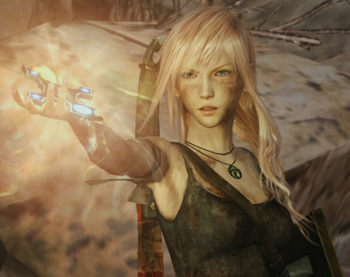 Lara Croft Lightning Returns