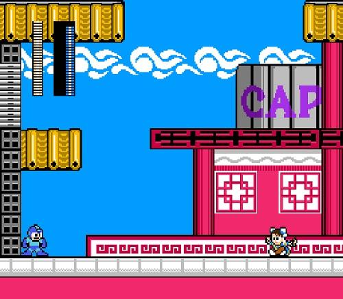 MEGAMAN VS CHUN LI Capcom anuncia un crossover al estilo de los 80: Street Fighter X Megaman