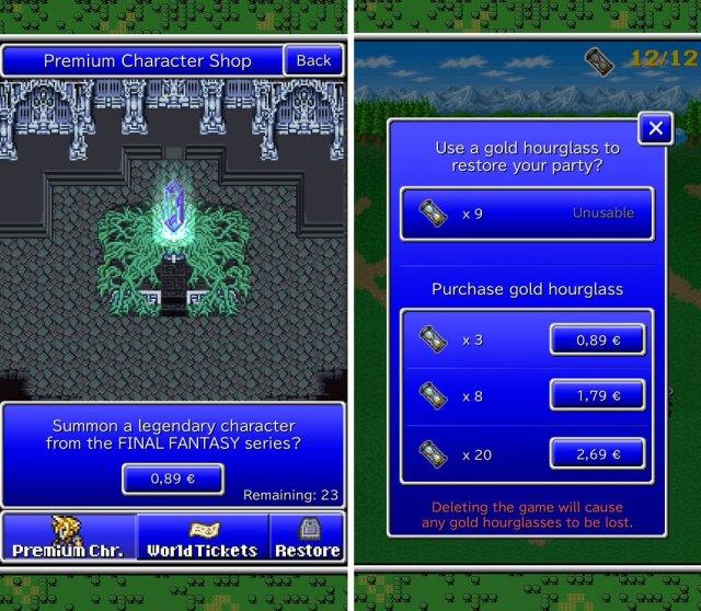 Estafa Micropagos Final Fantasy All The Bravest