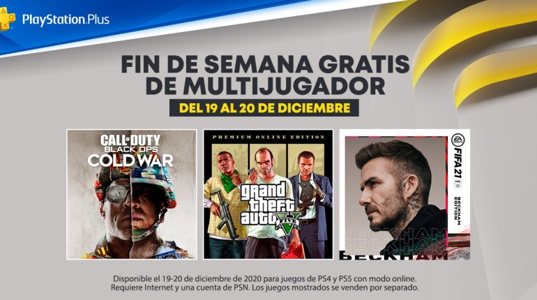 PS Plus gratis multijugador