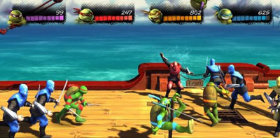 TMNT Turtles in Time Re shelled ps3