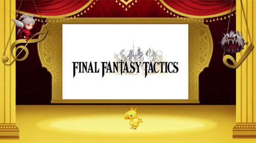 Theatrhythm Final Fantasy Tactics