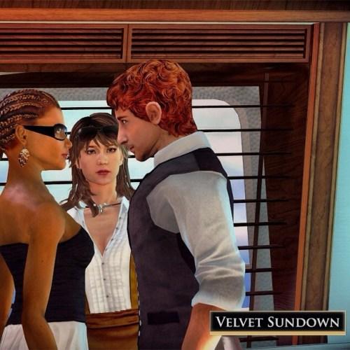 La mezcla entre videojuego social y rol, #VelvetSundown, estará disponible para #PC y #Mac este diciembre