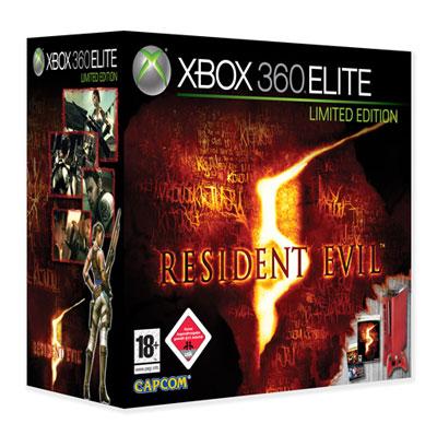 Xbox 360 roja residen evil