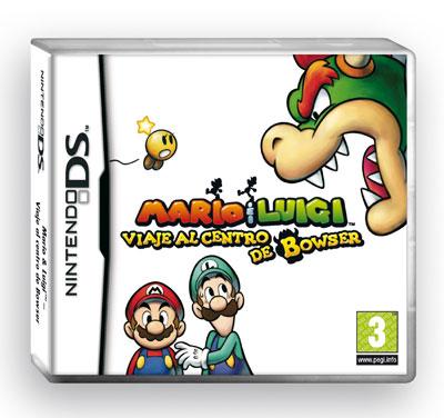 Mario & Luigi Viaje al centro de Bowser Nintendo Ds