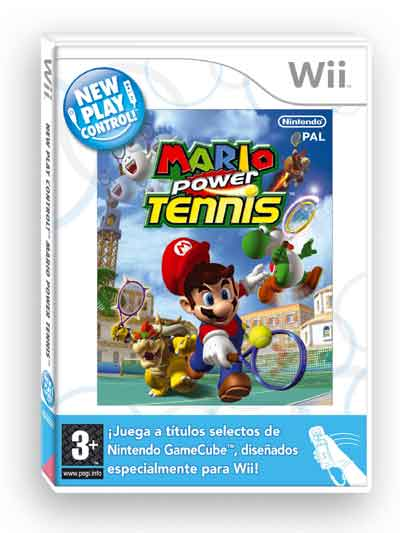 mario power tenis