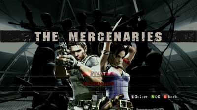 mercenaries mode resident evil 5