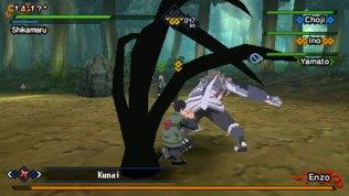 naruto kizuna drive psp screenshot 1
