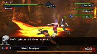 naruto kizuna drive psp screenshot 3