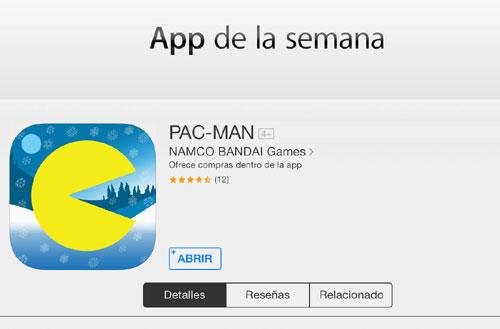 pacman gratis iphone
