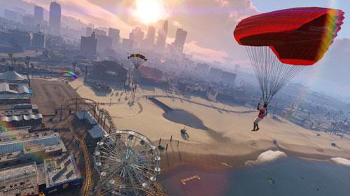 paracaidismo GTA online