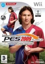 Portada oficial de Pro Evolution Soccer 2009 para Wii: a finales de marzo saldrá a la venta