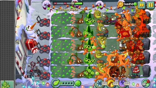 plants vs zombies 21 Llega un nuevo arsenal con la Lanzasavia de Plants Vs Zombies 2