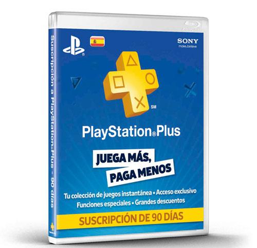 Playstation plus tarjetas suscripción