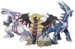 Los Pokémon Dialga, Palkia y Giratina se podrán adquirir por un tiempo muy limitado