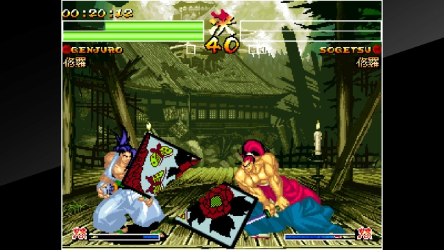 samurai shodown 4 switch