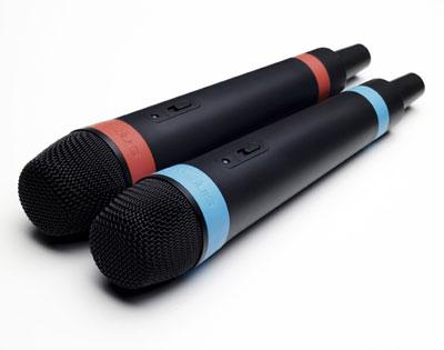 singstar micrófonos wireless