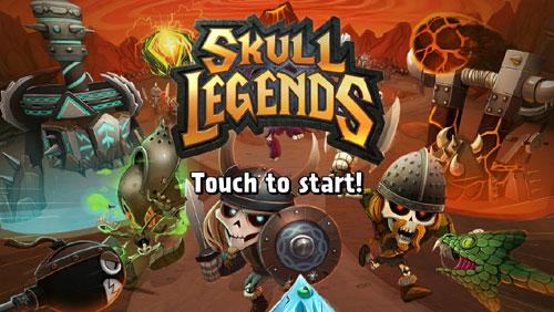 skull legends iphone