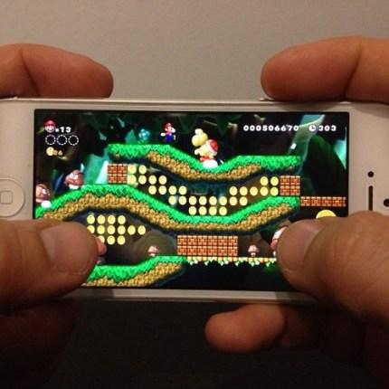 super mario app Por fin Nintendo se decide a desarrollar para móviles