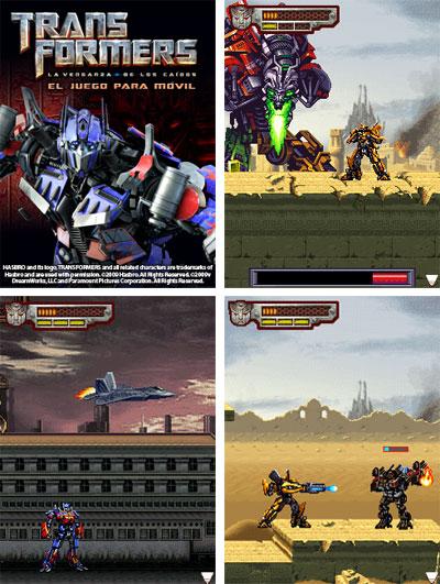 Transformers la venganza de los caidos videojuego oficial