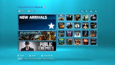 video store ps3