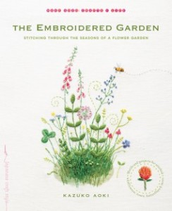 Cover for The Embroidered Garden by Kazuko Aoki