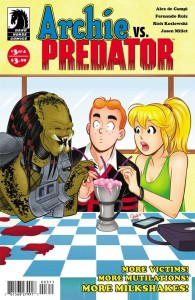Archie vs Predator #3 Cover