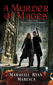Cover of A Murder of Mages by Marshall Ryan Maresca