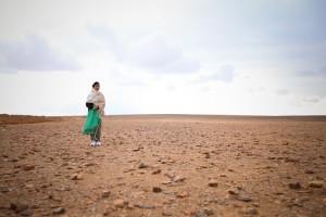 Malala on Sand