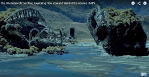 Ocean and Rock in the Shannara Chronicle