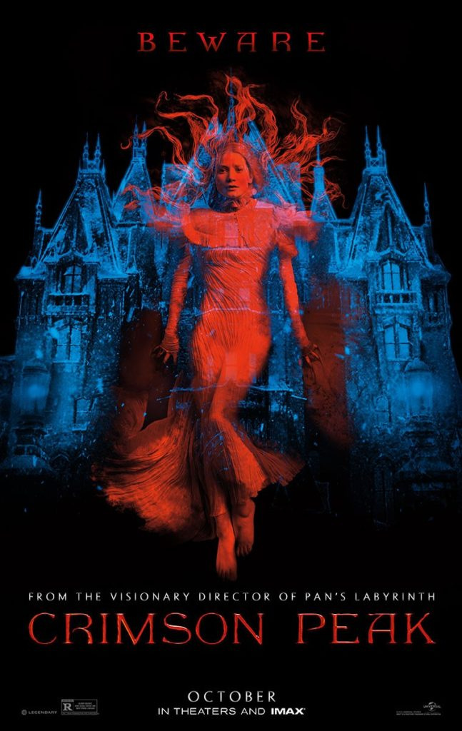Crimson Peak Theatrical Poster
