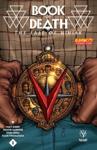 Book of Death Ninjak Alamo Comic Con Exclusive