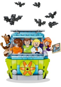 Lego Scooby Doo Character Art