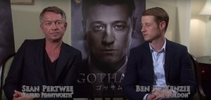 Sean Pertwee and Ben McKenzie discuss Gotham