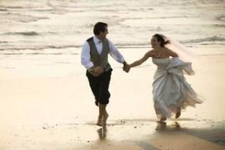menikah di pantai