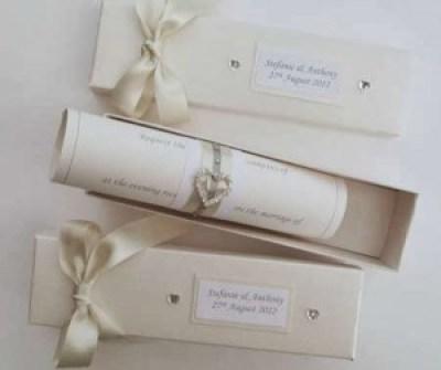 undangan pernikahan unik elegant simple 4